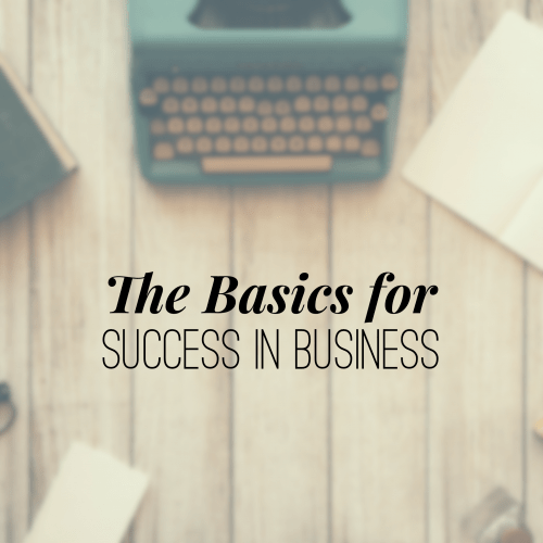 Episode 22: The Basics for Success in Business – Nathan Holritz