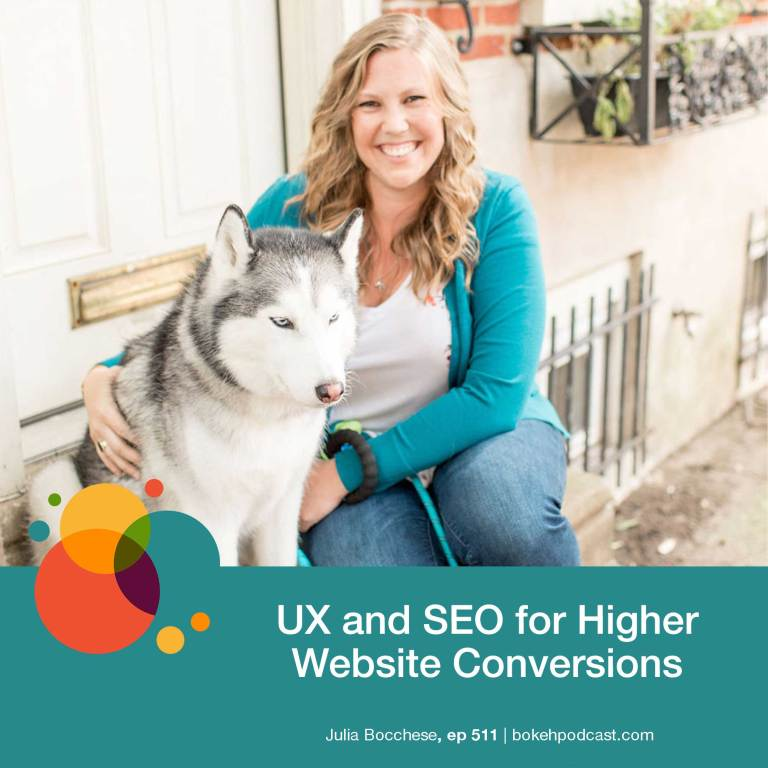 Episode 511: UX and SEO for Higher Website Conversions – Julia Bocchese