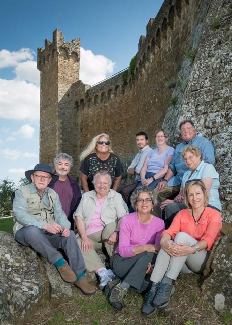 A great group of talented photographers in Tuscany, May, 2015