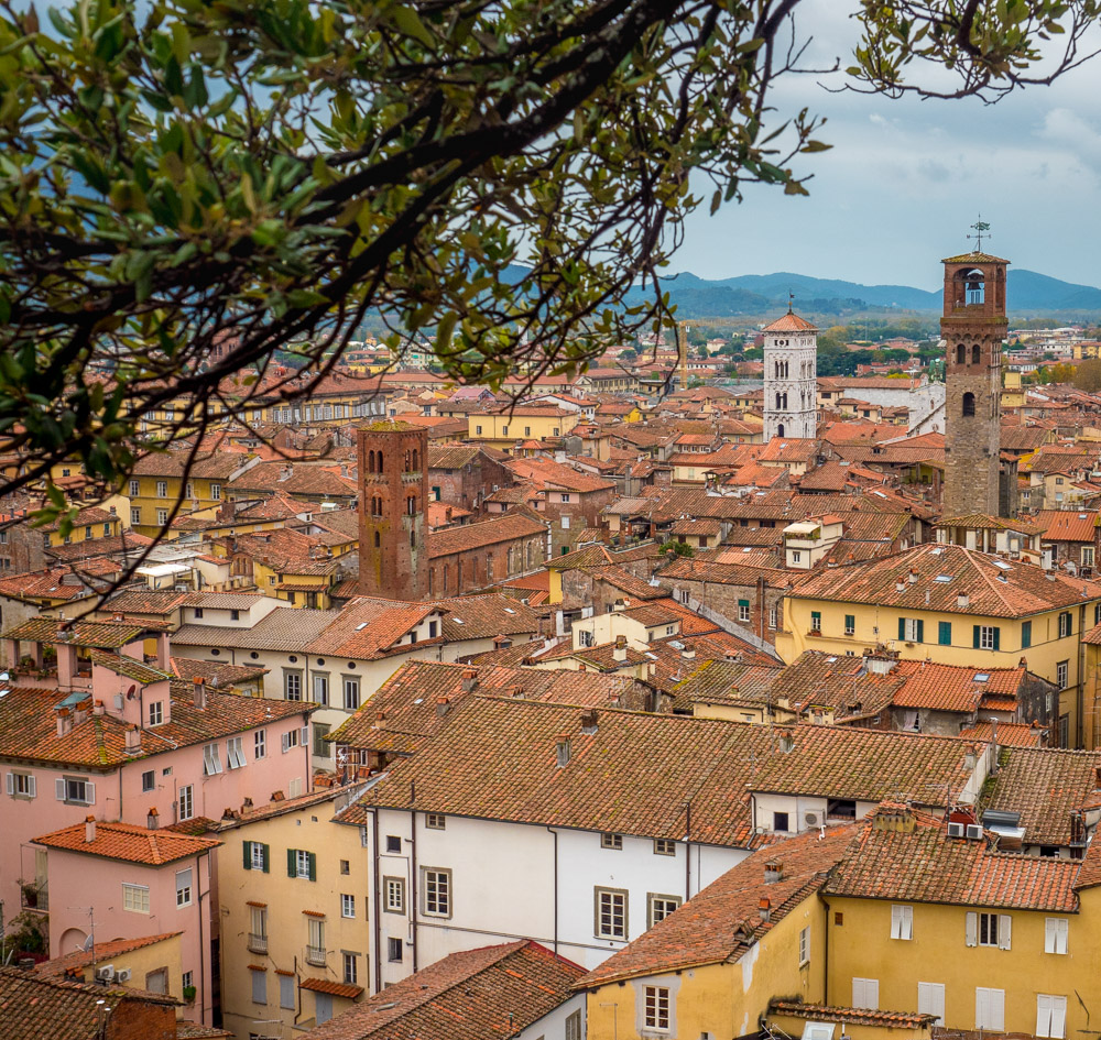 Lucca, our home base for the week