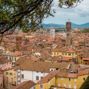 Lucca, Tuscany, our home base for the workshop