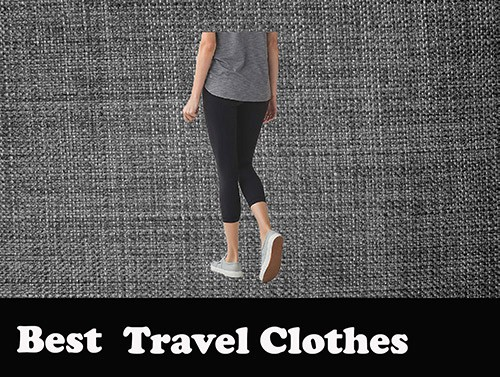 recommended travel clothes