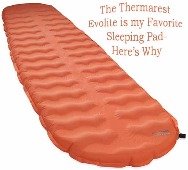 thermarest evolite review