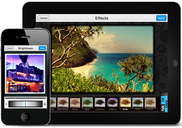 Aviary Camera and Photo Editing App for iOS and Android