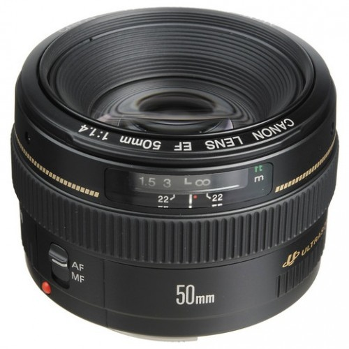 Canon EF 50mm f/1.4 for $339 – Deal Alert