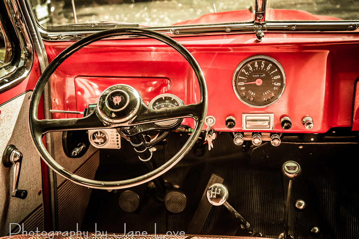 Classic Car Photography – Potomac Photographer Jane Love