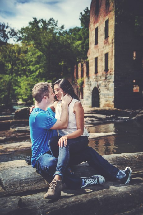Sweetwater Creek State Park Engagement Session, Roswell Wedding Photographer, Atlanta