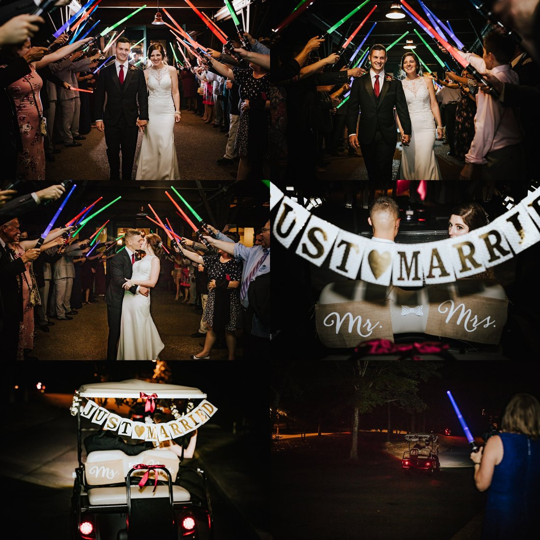 Atlanta Wedding Photographers Callaway Gardens Wedding Star Wars