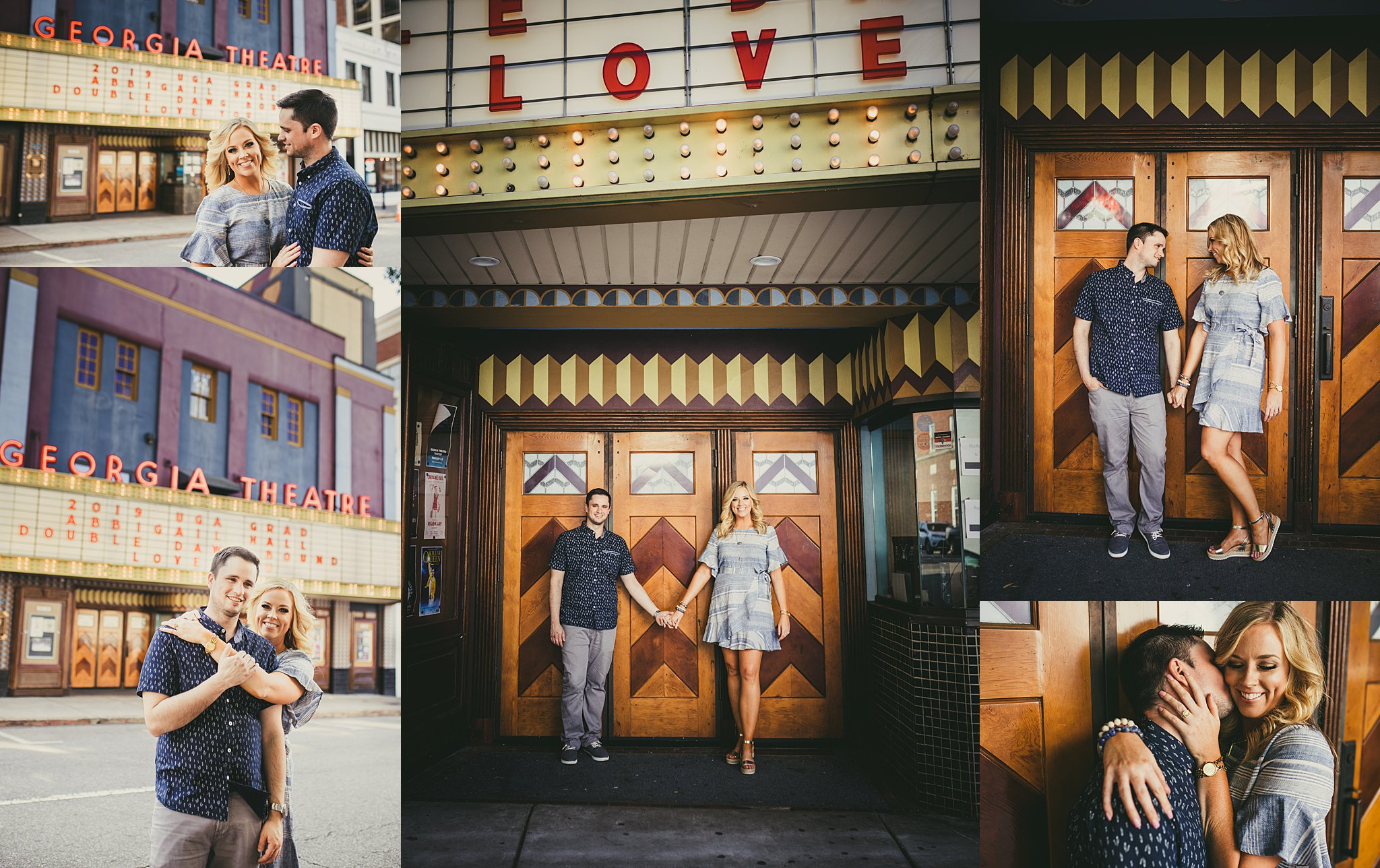 AtlantaWeddingPhotographers Athens Engagement Session