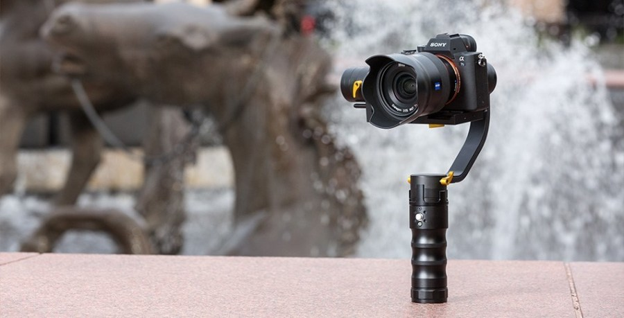 ikan DS1 - best 3 axis gimbal stabilizer