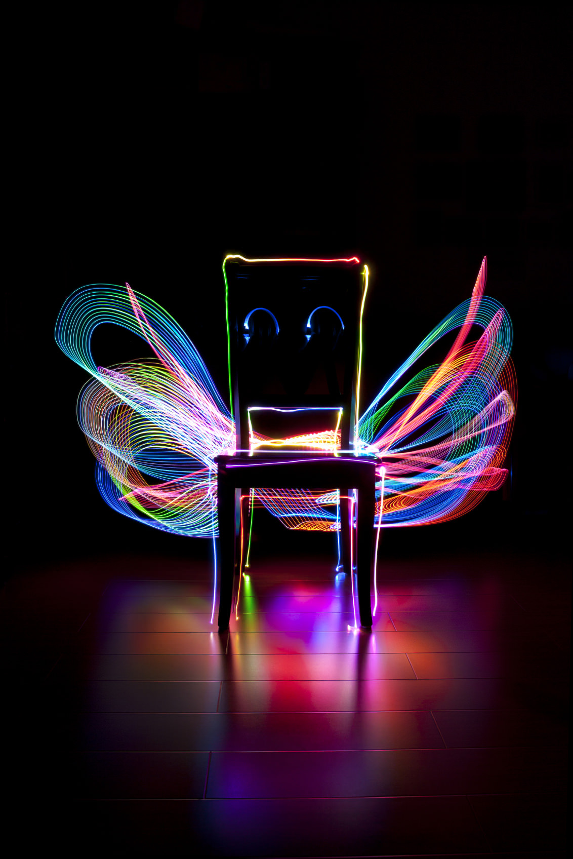 How Set Your Camera Light Painting