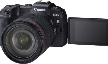 Nueva Canon EOS RP: la mirrorless más económica de Canon hasta el momento