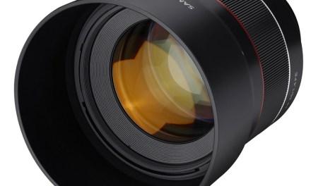 Samyang presenta el objetivo AF 85mm f/1,4 FE para Sony