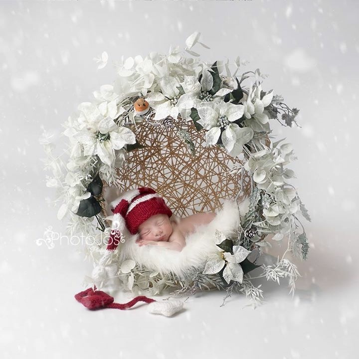Christmas baby by Photojos Photography