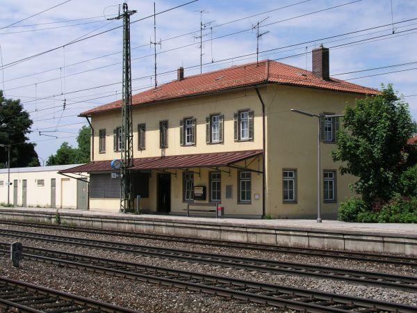 Bild vom Bahnhof in Maisach