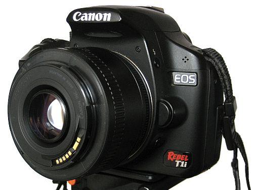 Canon Reversed Lens