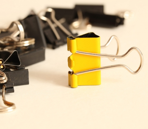 Simple props Bulldog clip - When you are different, make sure you stand out! | External link - opens new tab/page