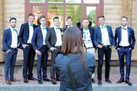 Portraiture - Image showing a group portrait (5 types of photography niche)