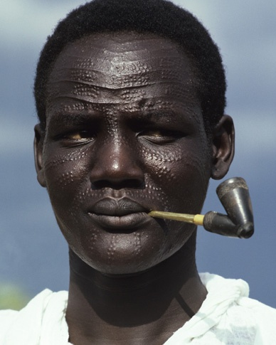 Image result for Nuer man
