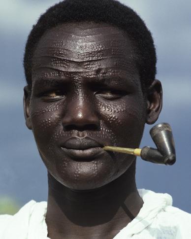 Image result for Nuer man