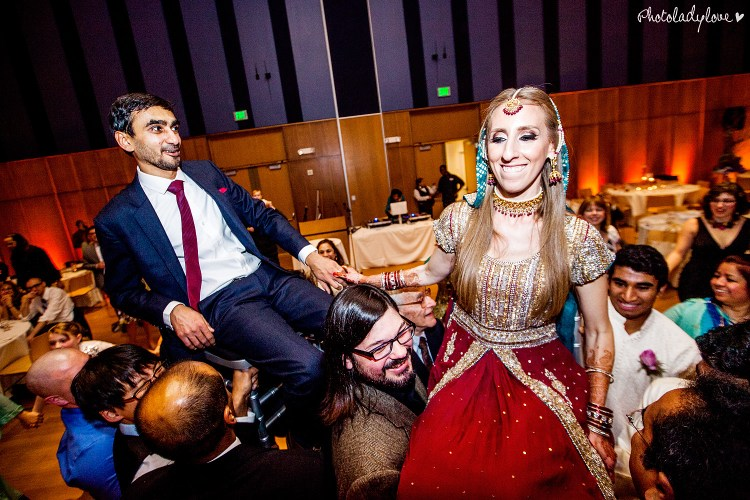 wedding, Silver Spring Civic Center, Pakistani wedding, South Asian wedding, Jewish wedding, female rabbi, Imam Daayiee, Washington DC