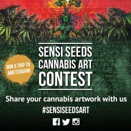 Sensi Seeds | Social Media - Design, Photoshop