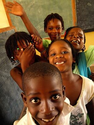 Celebrating Haitian Children by Wilson Slader