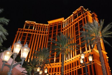 Evening Lights of Vegas by Liz Sette