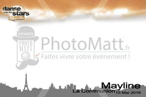Thème photobooth borne photo selfie photomatt danse avec les stars