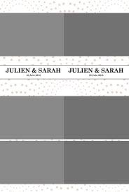 Deux bandes 5x15cm avec 3 photos larges
