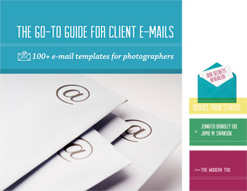 cover of Go To Guide for Client Emails