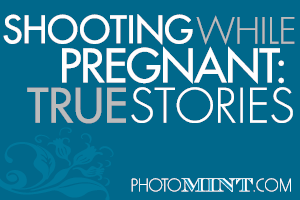 Shooting weddings when pregnant
