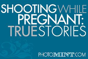 Shooting weddings when pregnant