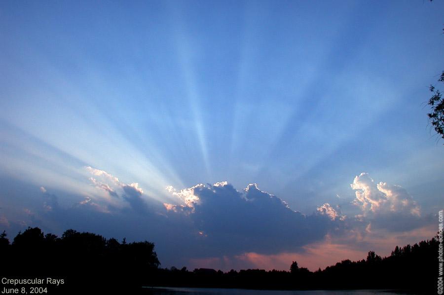 Atmospheric Optics Images Crepuscular Rays