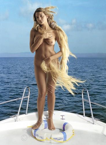Bernarda (based on Botticelli's 'Birth of Venus')