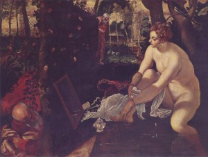 Susanna and the Elders by Tintoretto