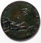 Medal of Danae by Fiorentino