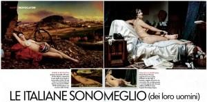 Vanity Fair double page spread