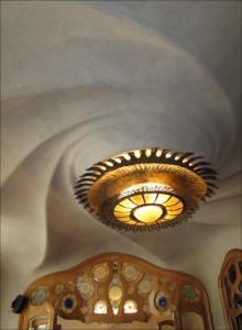 Gaudì ceiling Barcelona