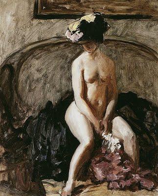 The Black Hat.Wilson Steer