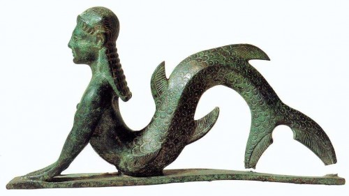 Etruscan Mermaid 5th Century BC