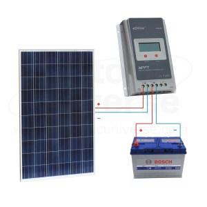 12V solar panels charging kits for caravans, motorhomes, boats, yachts, marine