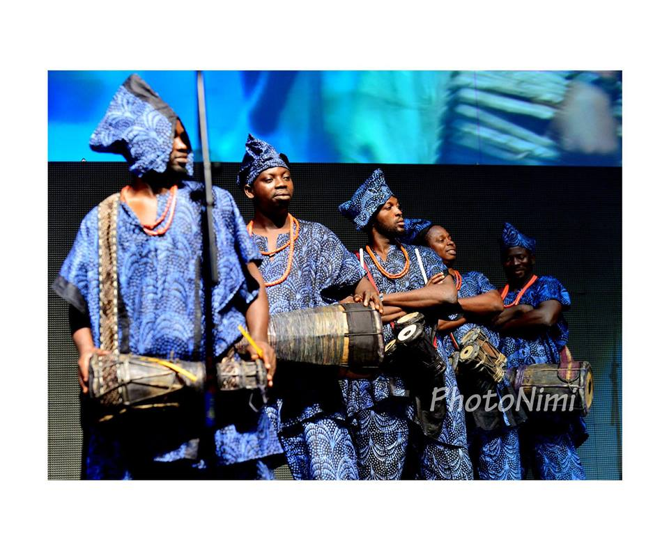 traditional yoruba percussionists, photonimi