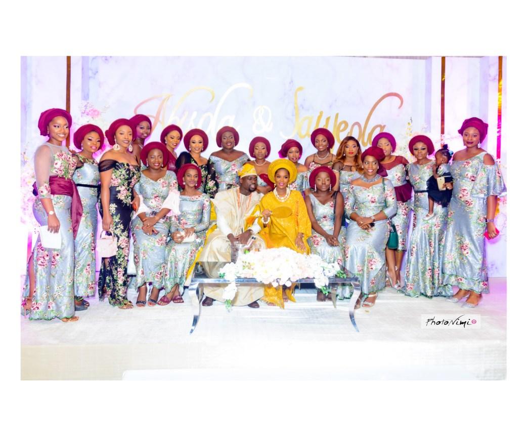 Bisola & Jaiyeola, yoruba traditional wedding photos, photonimi, 2018 wedding photo