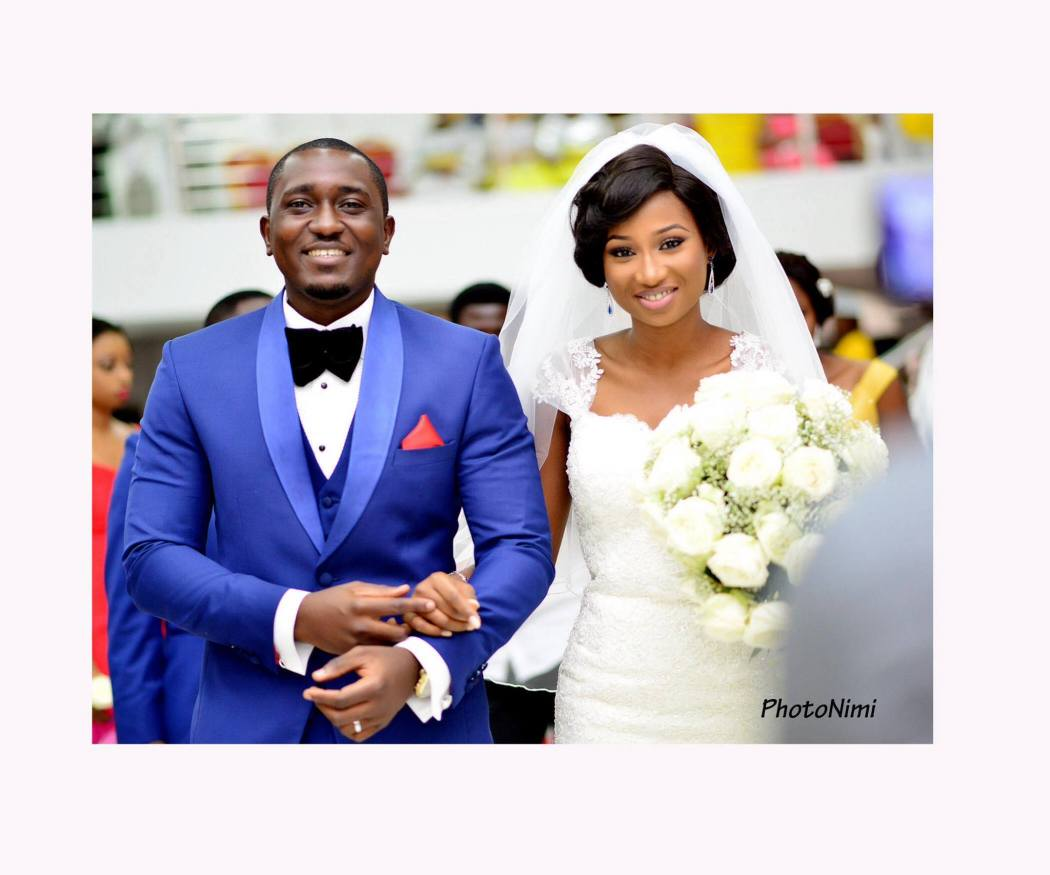 Jemi and Wale... bride & groom