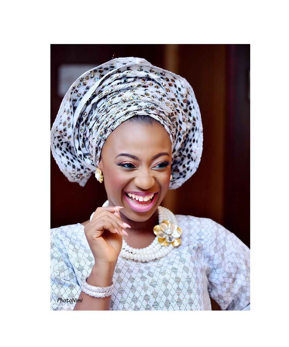 yoruba bride, yoruba traditional wedding attire