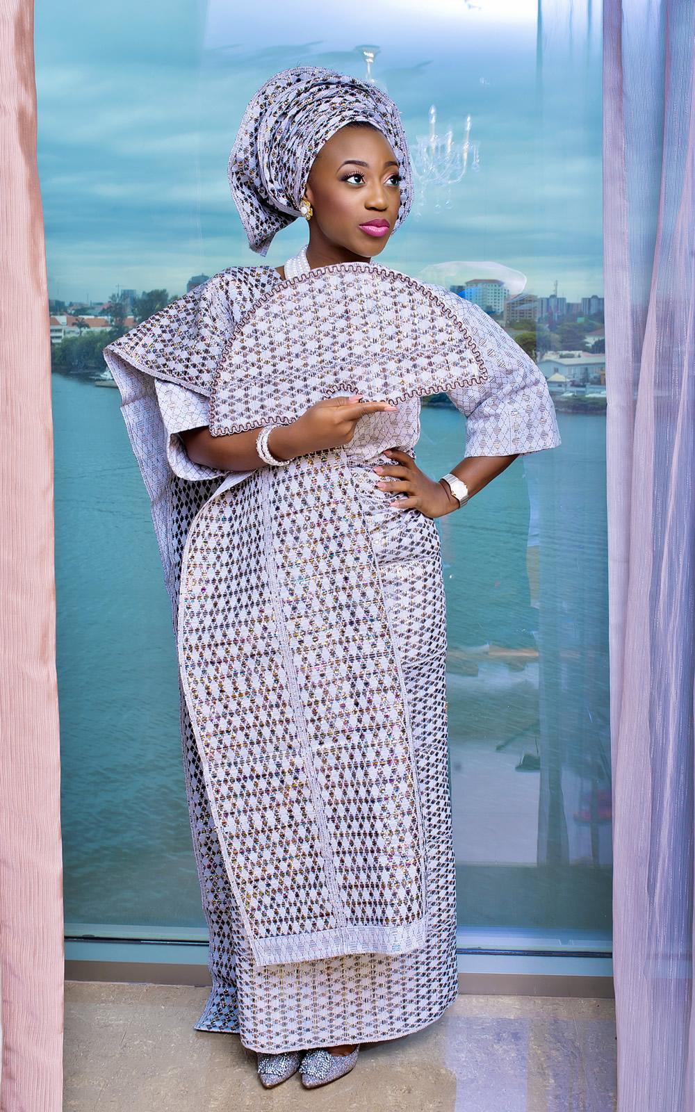 Yoruba Bride Traditional Wedding Attire