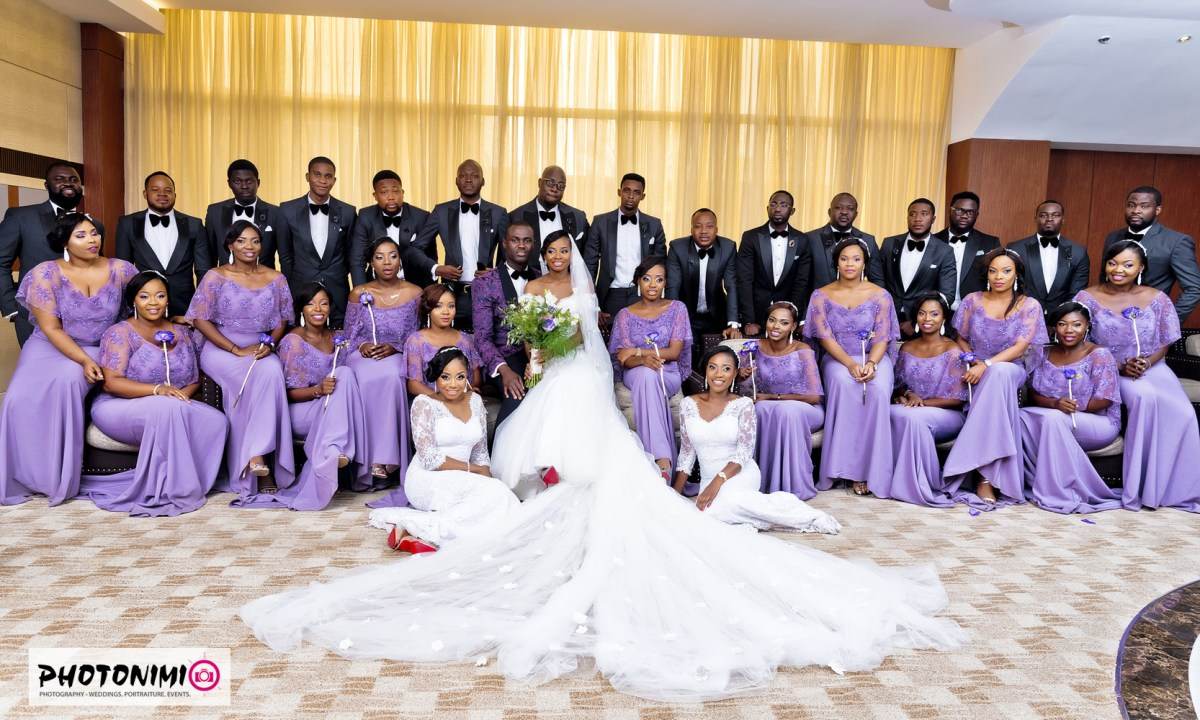 Sola & Tayo, Church Wedding