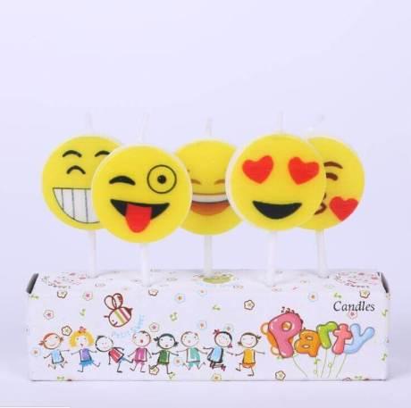 Emoji Cake Candles
