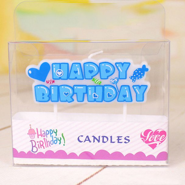 Happy Birthday Candle for boys
